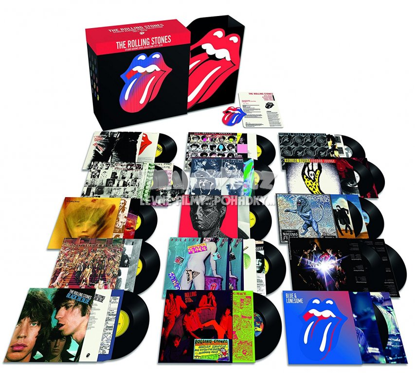 Rolling Stones: Studio Albums Collection 1979-2016 (20LP)