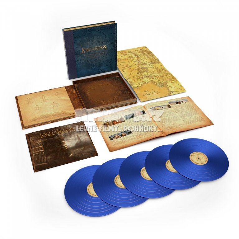 Soundtrack: Shore Howard (Pán Prstenů): The Lord of The Rings: The Two Towers (Dvě věže): The Complete Recordings (5LP)